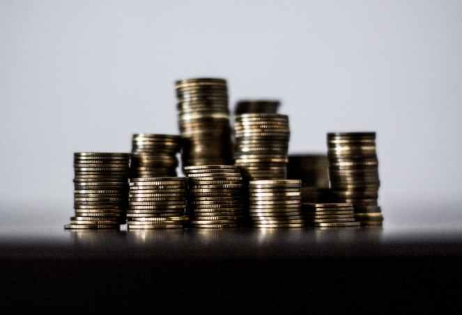 money coins finance cash